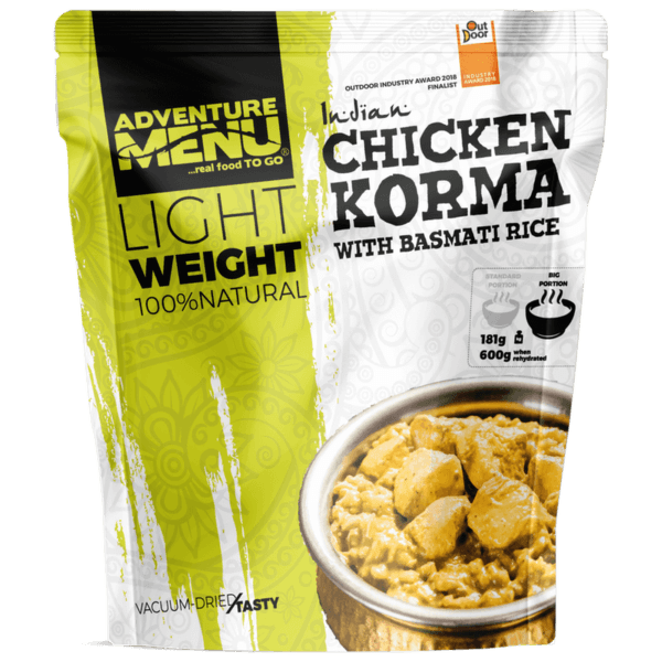 Lightweight Kuře Korma s rýží Basmati - Velká porce