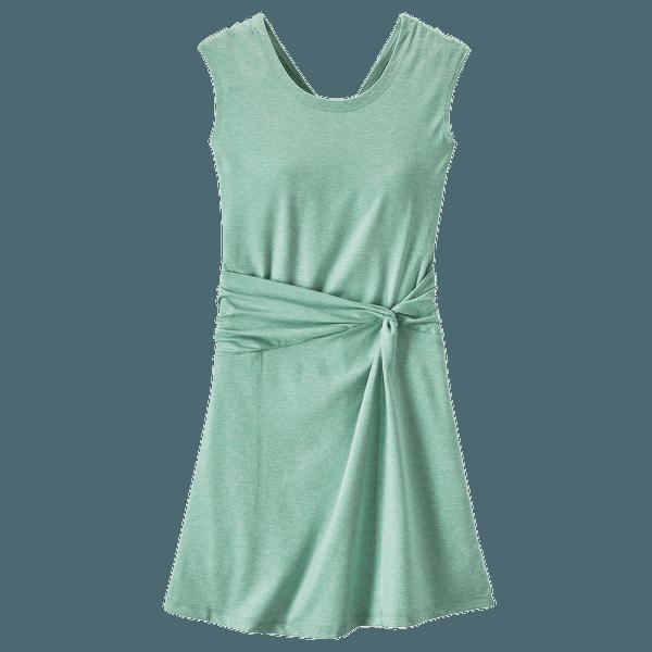 Seabrook Twist Dress Women Gypsum Green