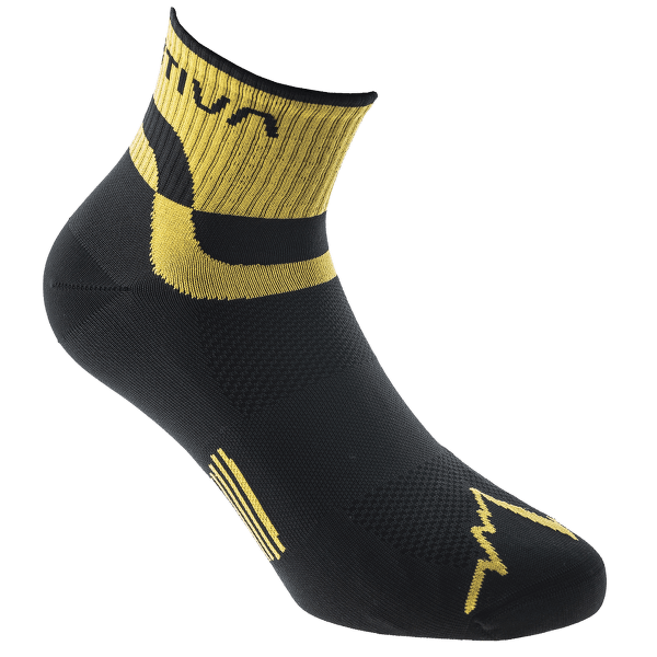 Trail Running Socks Black/Yellow 999100