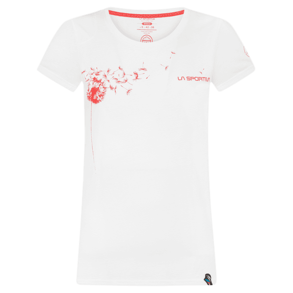 Windy T-Shirt Women White/Hibiscus