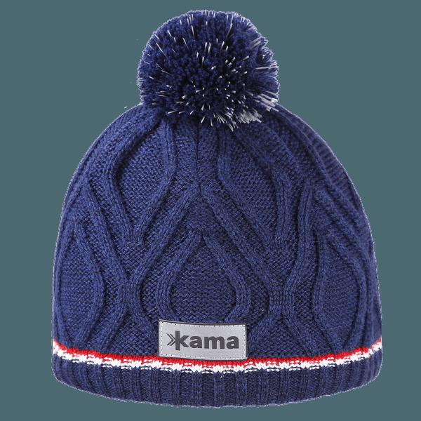 Dětská pletená Merino čepice B90 108 navy