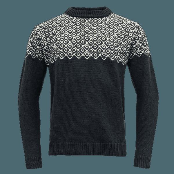 Bjornoya Sweater Crew Neck Men 284C INK/OFFWHITE