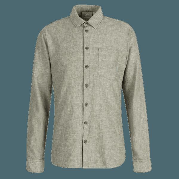 Mammut Hemp Longsleeve Shirt Men 4585 iguana melange