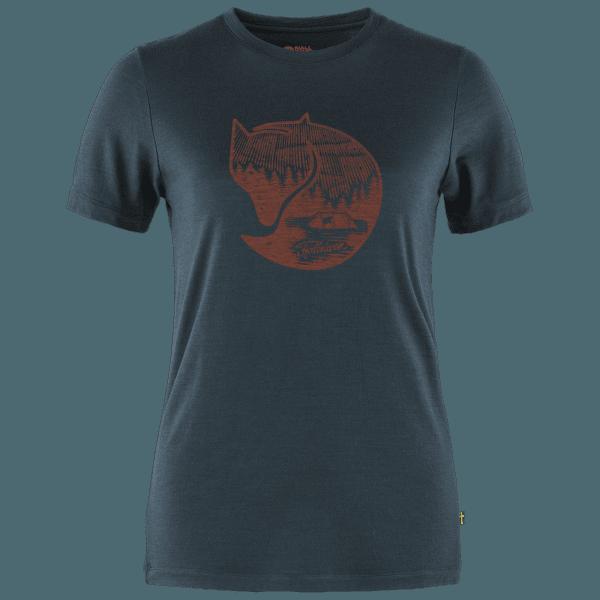 Abisko Wool Fox SS Women Dark Navy