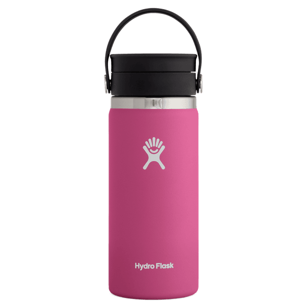 Wide Mouth with Flex Sip Lid 16 oz Carnation