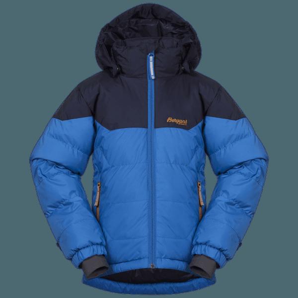 Ruffen Down Jacket Kids Athens Blue/Navy/Desert
