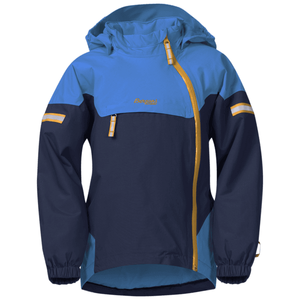 Ruffen Insulated Jacket Kids Athens Blue/Navy/Desert