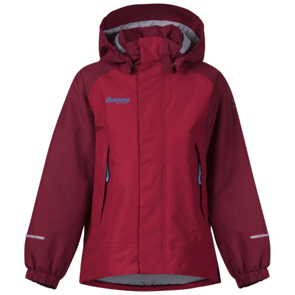 STORM INSULATED JACKET Kids Red/Burgundy