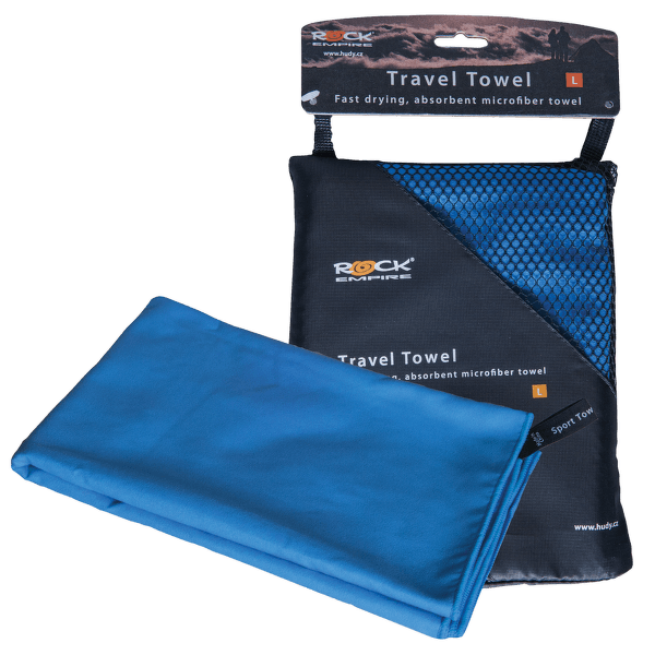 Travel Towel modrá 007