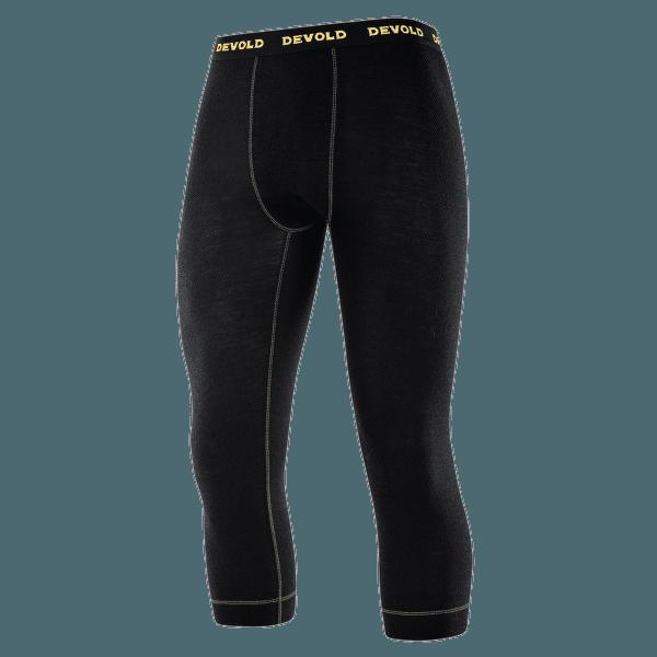 Wool Mesh 3/4 Long Johns Men (152-149) 950 BLACK