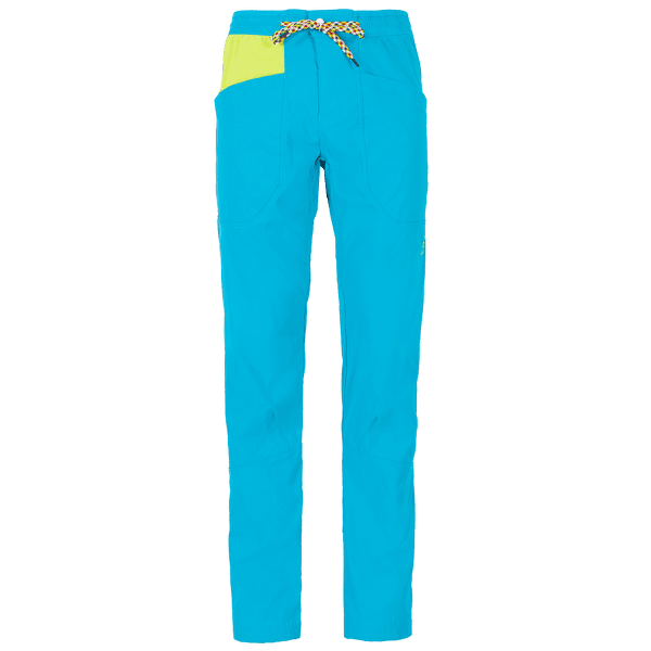Talus Pant Men Tropic Blue/Apple Green