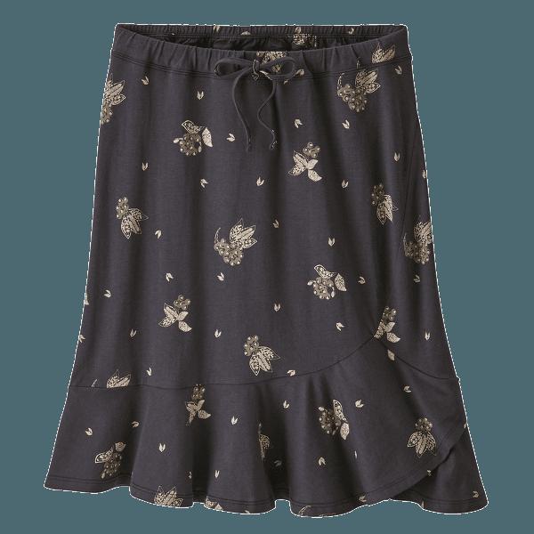 Alpine Valley Skirt Women Wattleseed: Ink Black