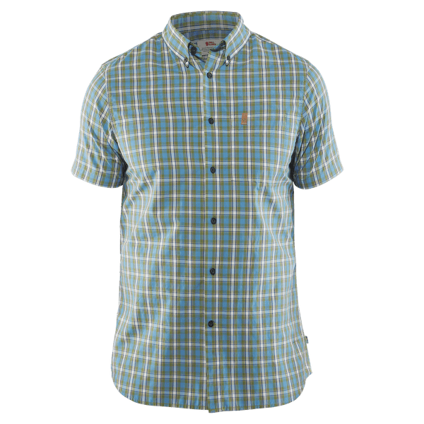 Övik Shirt SS Men Azure Blue