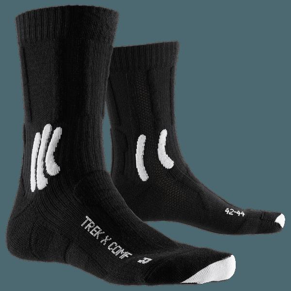 Trek X Comf Socks Opal black/artic white
