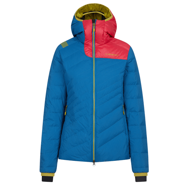 Tempest Down Jacket Women Neptune/Orchid