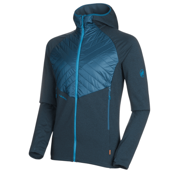Aconcagua Light Hybrid ML Hooded Jacket Men wing teal 50227