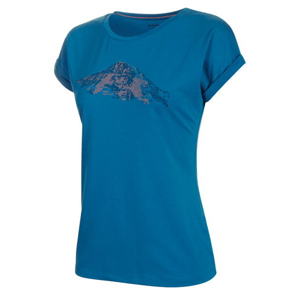 Mountain T-Shirt Women (1017-00961) sapphire 50226