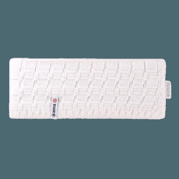 CW12 Knitted Headband white