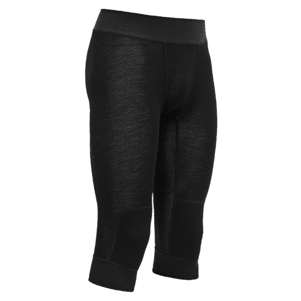 Wool Mesh 3/4 Long Johns Men (151-149) 960A CAVIAR
