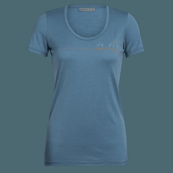 Tech Lite SS Scoop Single Line Camp Women BLUE SPRUCE