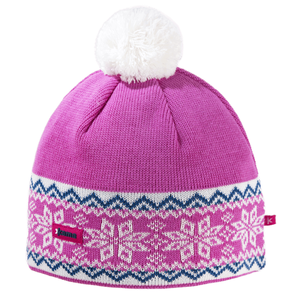 A116 Knitted Beanie pink