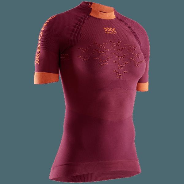 The Trick G2 Run Shirt SH SL Women NAMIB RED/KURKUMA ORANGE