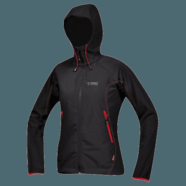 Tanama 1.0 Jacket Women black/red