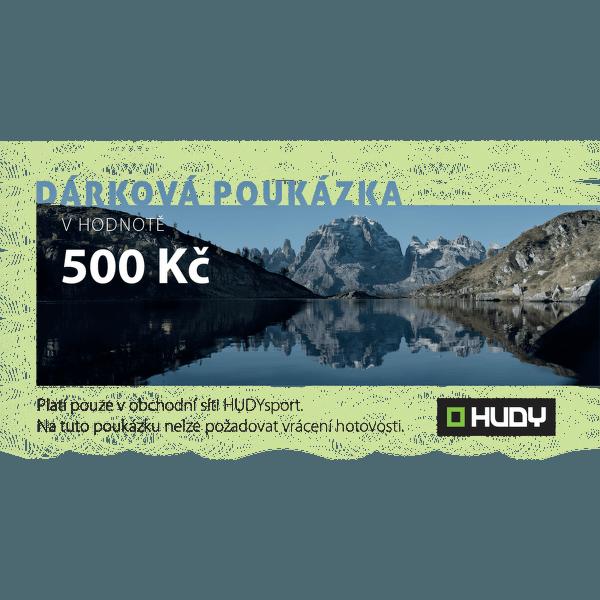 Dárková poukázka 500 Kč