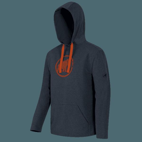 Logo ML Hoody Men (1040-01380) graphite-dark orange 0597
