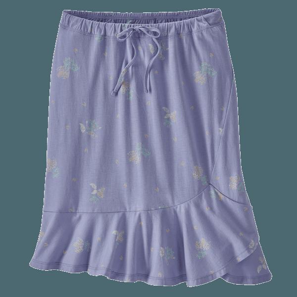 Alpine Valley Skirt Women Wattleseed: Light Violet Blue
