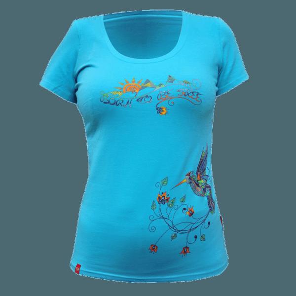 Born to Be T-Shirt Women blue