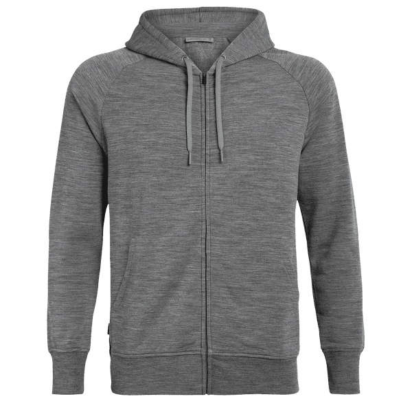 Helliers LS Zip Hood Men