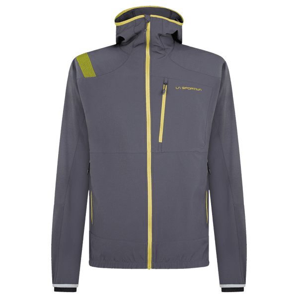 Albigna Jacket Men Carbon