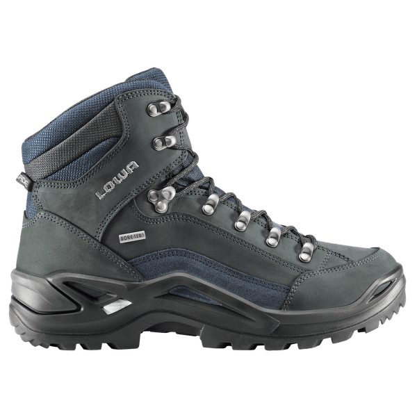 Renegade Gtx Mid Wide Men Dunkelgrau/navy