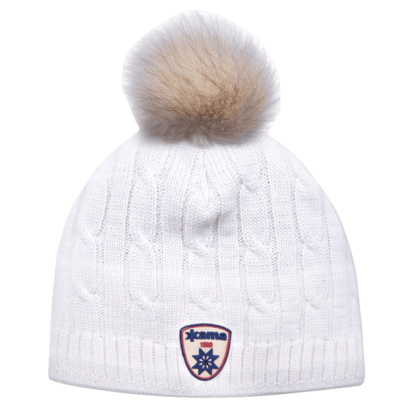A75 Knitted Hat White