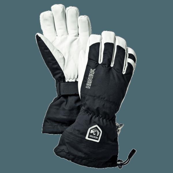 Army Leather Heli Ski Svart