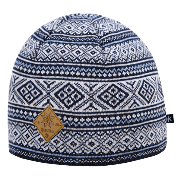 A102 Knitted Hat 108 navy