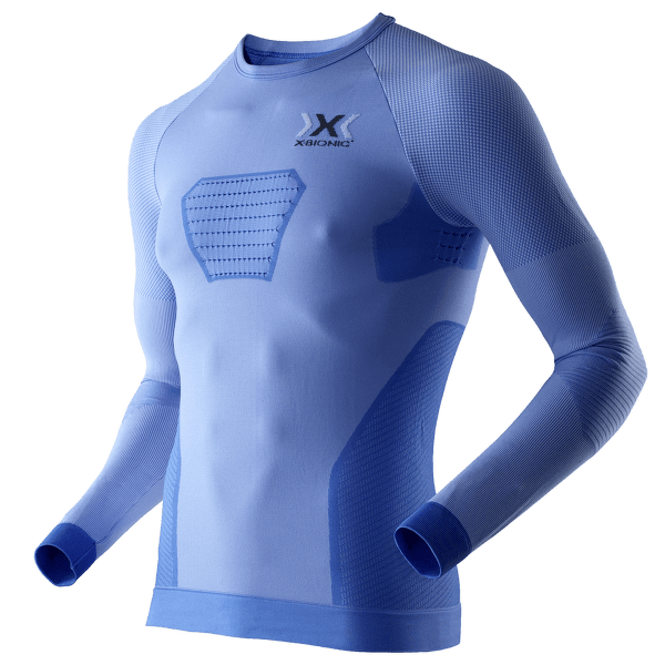 Speed EVO Running Shirt Long Men Marina Blue/Anthracite