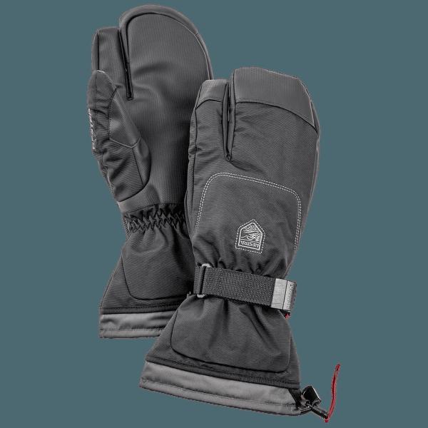 Gauntlet Sr. 3-prsté Svart/Svart