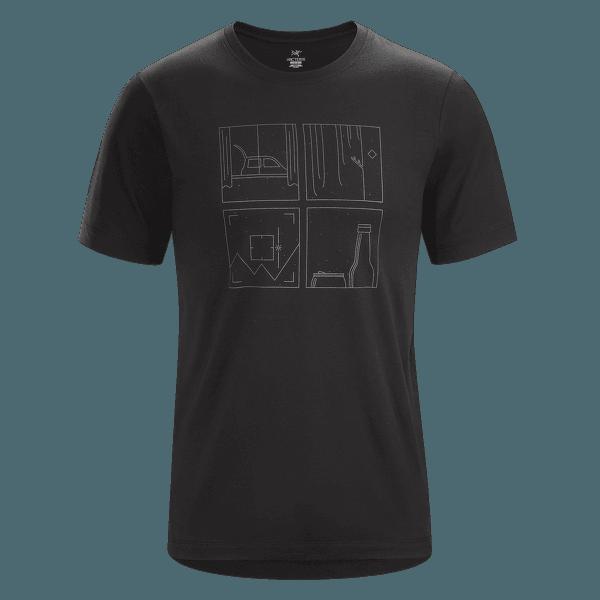 Quadrants T-Shirt SS Men Black