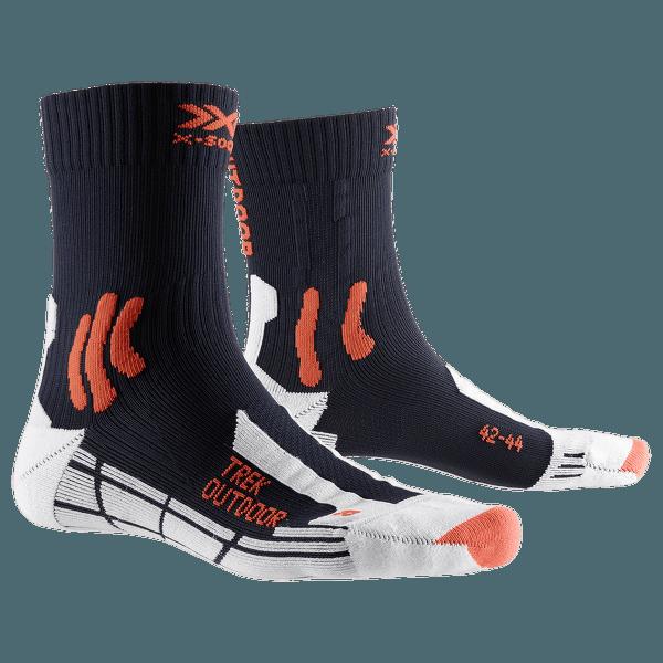 Trek Outdoor Socks Blue-Kurkuma orange
