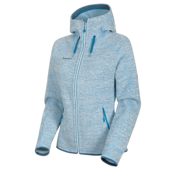 Arctic ML Hooded Jacket Women (1014-15703) bright white-sapphire melange 00367