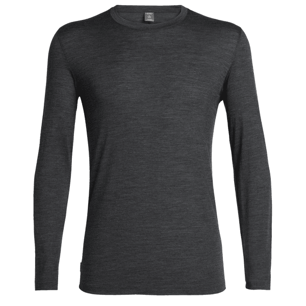 Elements LS Crewe Men Black HTHR