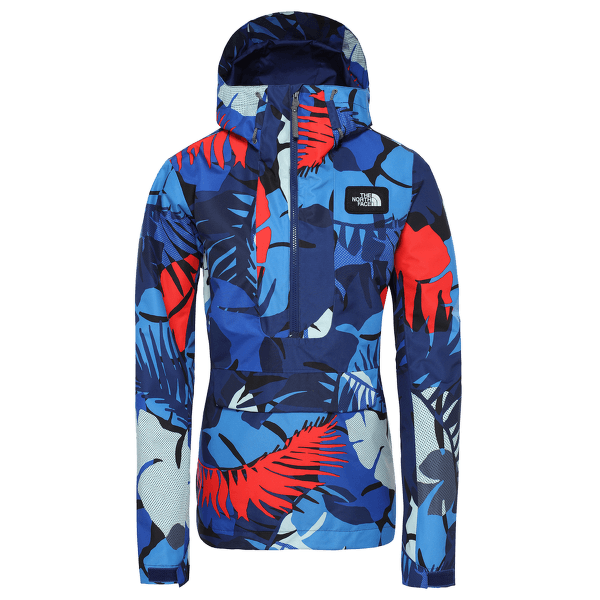 Tanager Jacket Women FLAG BLUE PALMS PRINT