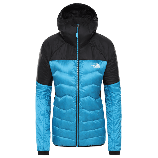 Impendor Verto Prima Hoody Women ACOUSTIC BLUE/TNF BLACK