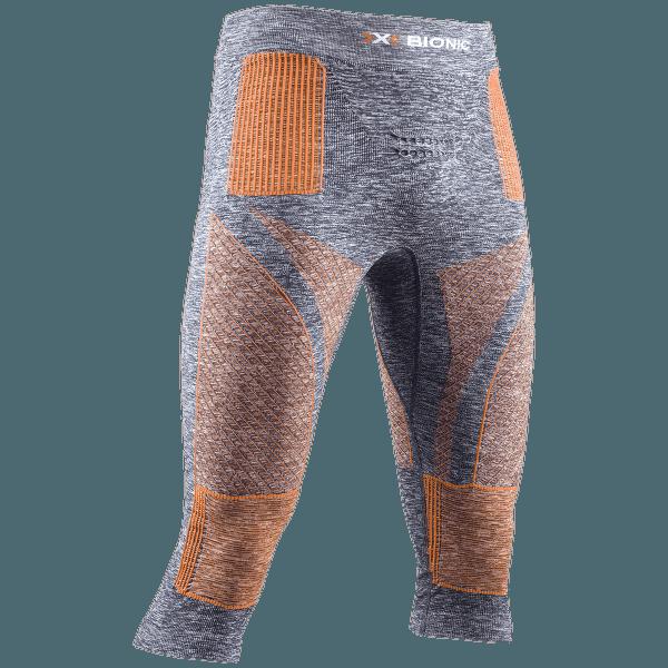 Energy Accumulator 4.0 Melange 3/4 Pant Men Grey Melange/Orange