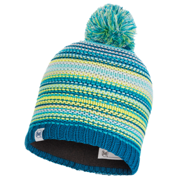 Junior Knitted&Polar Hat Amity TURQUOISE JR