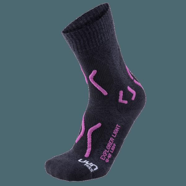 Trekking Explorer Light Women Charcoal/Purple