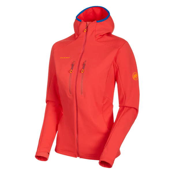 Eiswand Advanced ML Hooded Jacket Women 3500 sunset