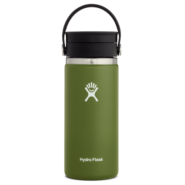 Wide Mouth with Flex Sip Lid 16 oz 306 Olive